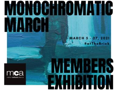 Monochromatic March BLUE