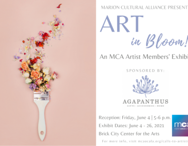 June Exhibit - Art in Bloom
